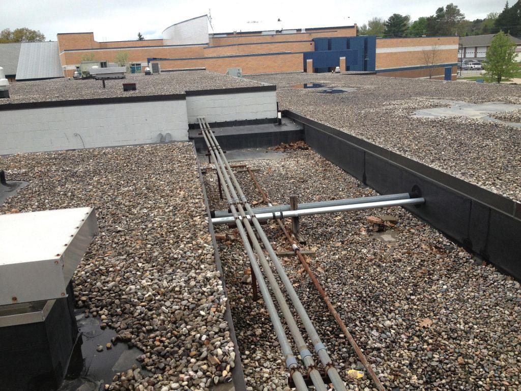 Shay Elementary School Roof Project Harbor Springs Mi