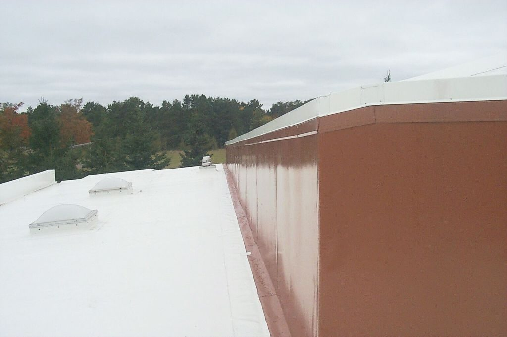Flat And Low Slope Pvc Roof In Empire Mi Bloxsom
